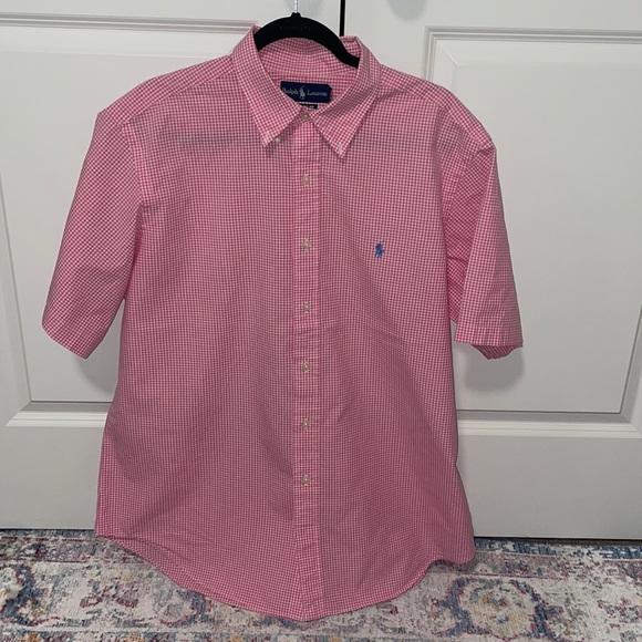 Classic fit shirt shirt sleeve Ralph Lauren shirt